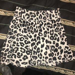 2 for $25: Justice Animal Print Skirt (Size 10)